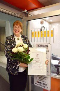 Linda Mežs-Talapina, LATSIGN valdes locekle. Foto no privātā arhīva.